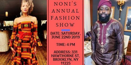 NONI'S ANNUAL AFRICAN FASHION SHOW  tickets