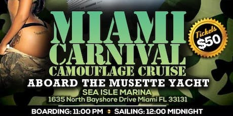 MIAMI CARNIVAL CAMOUFLAGE CRUISE  tickets