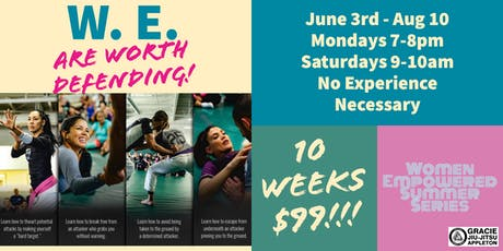 W. E. Are Worth Defending! (Women Empowered®️ Summer Series) tickets