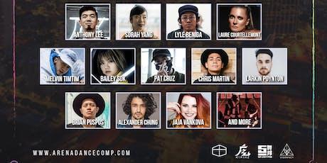 Arena Dance Camp 2019 - Pre-sale entradas