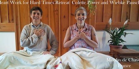 Heart Work for Hard Times Mindful Self-Compassion Silent Retreat,France billets