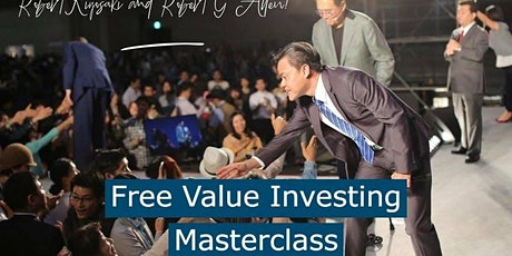 FREE Value Investing Masterclass - How To Create Sustainable Income? tickets