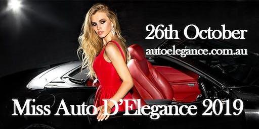 Miss Auto D'Elegance 2019
