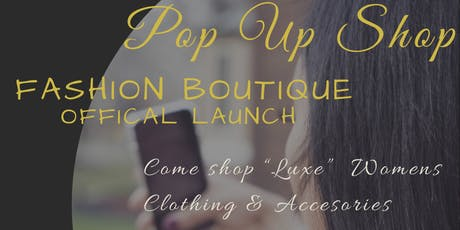 PS Luxe Official Launch Pop Up Shop tickets