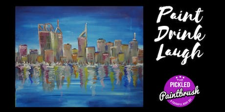 Painting Class - Perth City Skyline - July 21, 2019 tickets