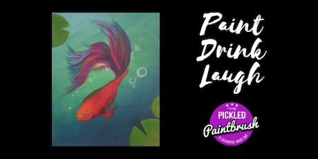 Painting Class - Fighting Fish - July 20, 2019 tickets