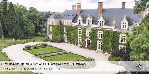 Pique-nique blanc au Château de l'Epinay