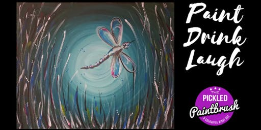 Painting Class - Dragonfly - June 27, 2019