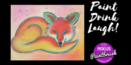 Painting Class - Foxy - ALL AGES - June 30, 2019