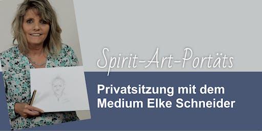 Spirit-Art-Sitzung mit Elke Schneider