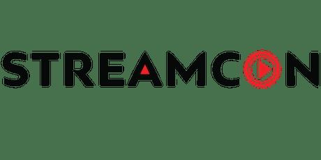 StreamCon tickets