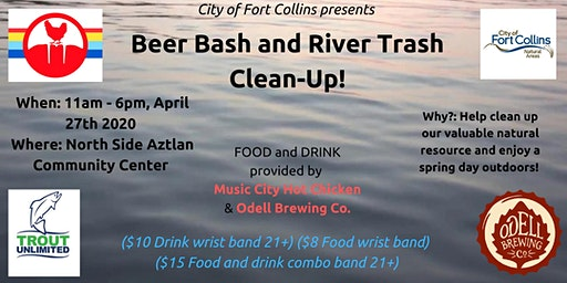 Save the Poudre: Beer Bash and River Trash Clean-Up