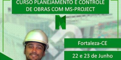 Planejamento e Controle de Obras com MS-Project