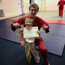 Sensei Duncan Phelps of LJJ Martial Arts has been teaching since 2016 logo