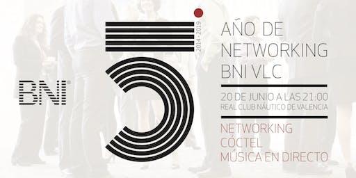5º AÑOS DE NETWORKING BNI VALENCIA