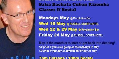 Latino Beat Salsa Club Friday Classes & Social 24 May