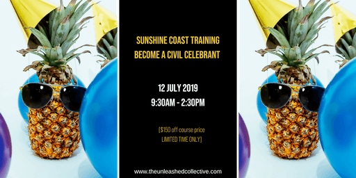 Become a Civil Celebrant; Naming Day, Renewal of Vows and more...