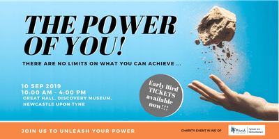 """THE POWER OF YOU"" Personal Development Event, Newcastle Upon Tyne"