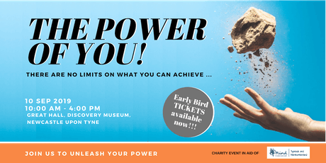 """""""THE POWER OF YOU"""" Personal Development Event, Newcastle Upon Tyne tickets"""