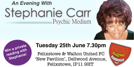 Psychic Medium Evening with Stephanie Carr tickets