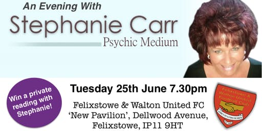 Psychic Medium Evening with Stephanie Carr