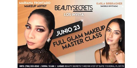 Full Glam Makeup Master Class tickets
