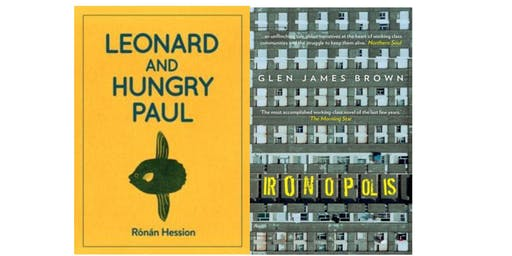 Author Event with Glen James Brown and Ronan Hession