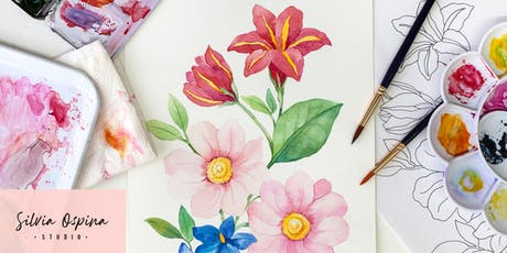 Floral Watercolour Masterclass tickets