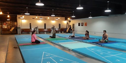 Yoga Shuffle: Yoga On The Courts @ Shuffle Tampa
