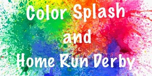 Beckley Little League  Color Splash & Home Run Derby