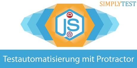 Testautomatisierung mit JS und Protractor in der Praxis - Schulung  Tickets