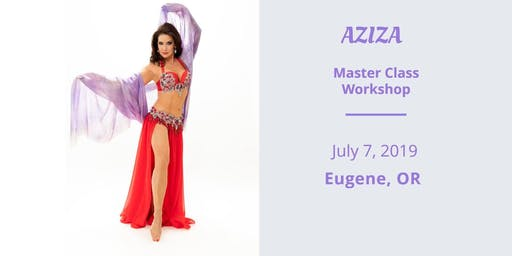 AZIZA Belly Dance Workshop in Eugene