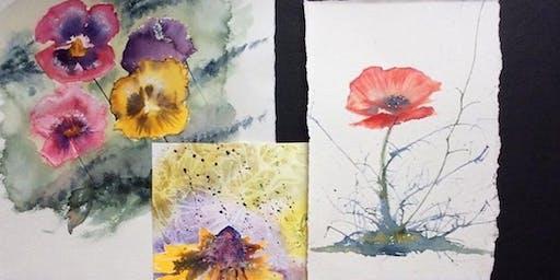 Painting Watercolour Flowers Workshop