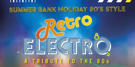 Retro Electro 80's tickets