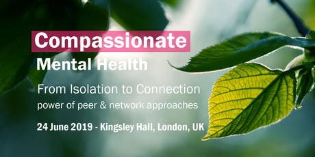 From Isolation to Connection - power of peer & network approaches  tickets