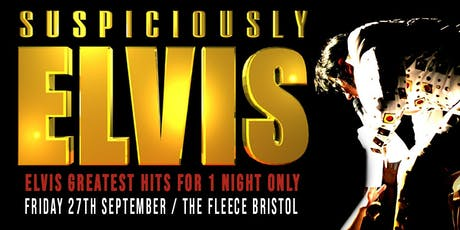 Suspiciously Elvis - Greatest Hits Set tickets