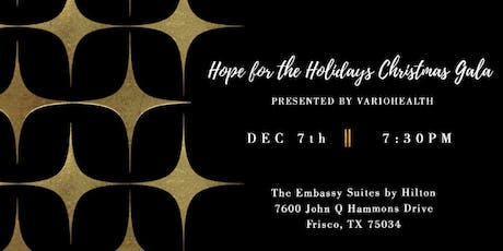 Hope for the Holidays Christmas Gala 2019 tickets