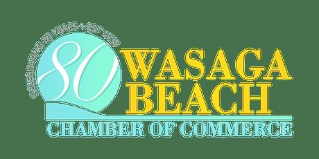 Wasaga Beach Chamber of Commerce Celebrates 80 Years tickets