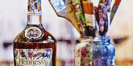 MANHATTAN Henny  n' Paint: A Open Bar Painting & Cognac Experience tickets