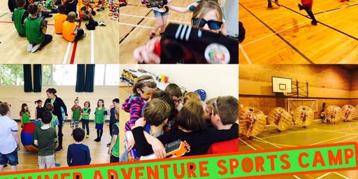 ELGIN SUMMER ADVENTURE SPORTS CAMP SINGLE DAY TICKETS MONDAY 5TH OF AUGUST-FRIDAY 9TH OF AUGUST