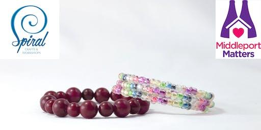 Beginner's Bracelets at Baskeyfield House