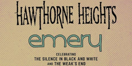 Hawthorne Heights & Emery tickets