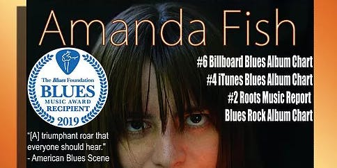 AMANDA FISH~ just won the BMA's Best Emerging Artist!