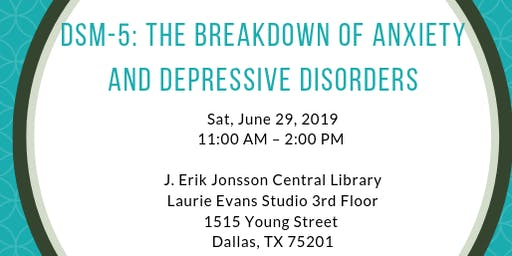 DSM-5: The Breakdown of Anxiety and Depressive Disorders