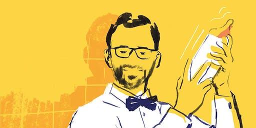 Ein Vater greift zur Flasche - Eine satirische Lesung mit Christian Hanne