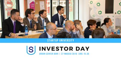 "Investor Day ""Startup University 2019"""