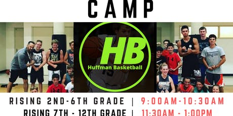 LAKE CITY | HUFFMAN BASKETBALL CAMPS  | 2ND - 6TH GRADE BOYS/GIRLS tickets