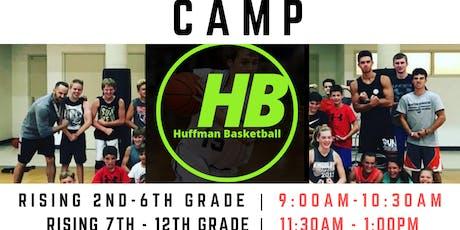 LAKE CITY | HUFFMAN BASKETBALL CAMPS  | 7-12th GRADE BOYS/GIRLS tickets