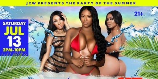 Black Pride Wet AF Pool Party