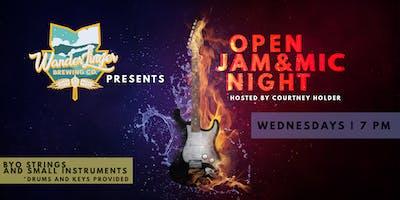 Open Mic & Jam Night - Every Wednesday